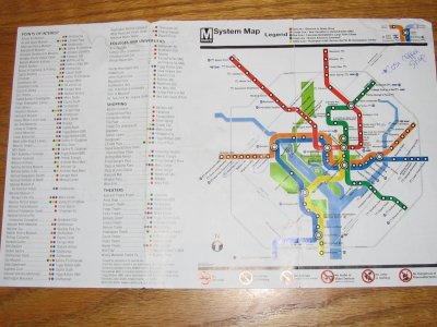 Washington Transit Map