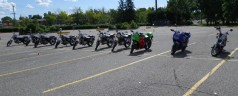 Motorcycle Lessons: Maneuvers (Day 2)