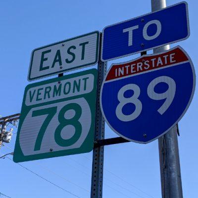 Vermont Street Sign